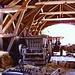 L'interno di un edificio rurale dell'Ecomusée d'Alsace