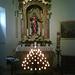 Der Marienaltar im Innern der Kirche
