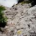 Felsiger Steig am Picolo Dolomiti
