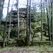 Gleich hinter dem Waldsteinhaus findet man die riesigen Felsformationen.