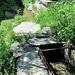 hier überquert der Wanderweg Ausserberg - Baltschieder die Wiigartneri