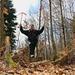 Zwei Stangen markieren den höchsten Punkt im Dschungel vom Jolimont (603m).