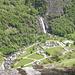 La cascata del Chignolasc a Bignasco