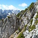 immer wieder kurze Kletterstellen