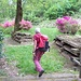 Sprint di Eugenio tra i fiori