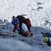 Sven und Franz im schwierigen und steilen Tomaselli-Klettersteig.
