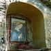 Pregevole dipinto nella cappelletta vicino al ponticello