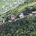 Auf der anderen Talseite Schloss Juval