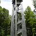 die interessante Bauweise des Turmes auf dem Altberg