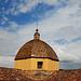 Das Wetter bessert sich, Kirche in Las Plassas am Ausgangspunkt zum Kegelberg
