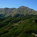 il versante est del monte Cusna...