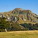 il monte Cusna visto da nordovest...
