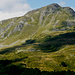il versante sudoccidentale del monte Cusna...