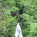 Parte alta della seconda cascata