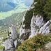 "Blick in den Klettersteig ""Schustergangl"""