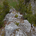 Gipfelgrat Chienhorn im Rückblick