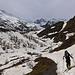 An der Schneegrenze südlich des Simplonpasses