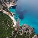 Sardiniens berühmteste Felsnadel von oben