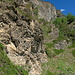 wieder unterhalb der Felsen