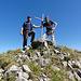 Hampi und Ivo auf dem Westgipfel der Filderchöpf