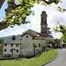 <b>Rovio: Chiesa parrocchiale dei SS. Vitale e Agata. Il campanile è opera di Simone Cantoni (seconda metà del secolo XVIII).</b>