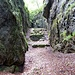 """La """"Piazza d'armi"""", valle racchiusa tra alte pareti di roccia"""