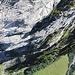 Atemberaubender Tiefblick ins Tal. Dieser Klettersteig ist also wirklich der Hammer!