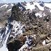 Ostgrat und Großlitzner vom Gipfel aus gesehen