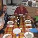 dall'altro capo,il gentilissimo Edi che ci ha aiutato in cucina: GRAZIE!