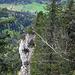 Wildes Ambiente rund um den Felskamm der Goggeien. Hier etwas weiter südlich, am Rotberg