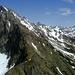 Blick über den Zitterklapfen-Westgrat hinüber zur Hochkünzelspitze und xxx