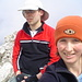 Paul und ich auf dem Gipfel