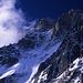 Die eindrucksvolle Nordwand der Aiguille Verte (4122m).