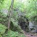 An der Felsengalerie (715 m) und nochmals 100 Hm bis zur Burg Wildenstein