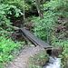 das Suonenrohr dient als Brückenauflage