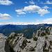 auf dem Gipfel der Cima della Trosa, Blick nach Westen.