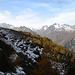 die Querung zum Pass dal Caval mit Schnee und vor allem Eis auf dem Weg