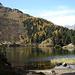 verträumte Buchten<br /><br />oberhalb vom Wald der Pass dal Caval