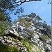Fluehütte fast erreicht, Blick zum Schlussaufstieg über den Grat