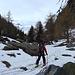 Wenig unterhalb Alpja beginnt der Winter.