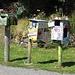 Briefkästen nahe Nelson