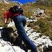 Kurz vor dem Gipfel gehts steil hinauf...