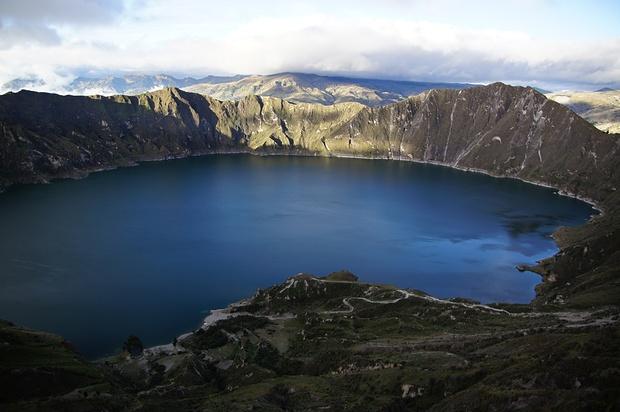 Circuito Quilotoa : Circuito quilotoa ⤳↘↗⤳↘⇩⤴⟾↗↘↗➞⤴↳↷⤴ hikr