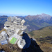 Gipfelbuch auf dem Glattchamm. Danke Alpin_Rise! Ein Mann - ein Berg!