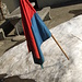 Der Schnee zerrinnt, die Fahne schlapp...