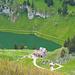 Berggasthaus Bollenwees beim Fälensee, hier kann man gemütlich speisen und übernachten
