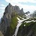 die Kreuzberge, eines der schönsten Fotosujets im Alpstein