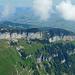 Blick über die Ebenalp und deren Kletterwände