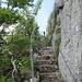 die letzten Meter zum höchsten Punkt der Arêtes des Sommêtres