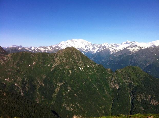 Corno di Scarpignano und Monte Rosa